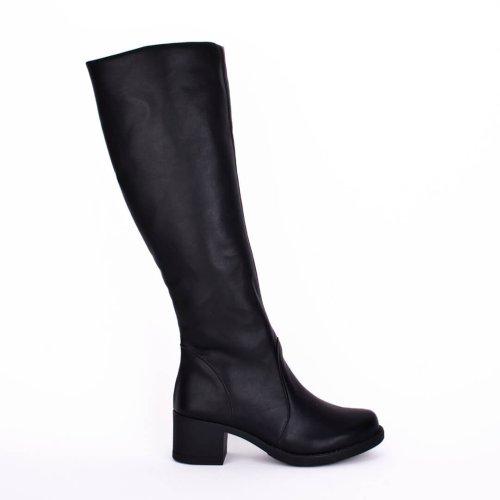 Μπότα με χαμηλό τακούνι. Μοναδικά γυναικεία παπούτσια για σένα σε εκπληκτικές τιμές! Βρες τώρα αυτό που σου ταιριάζει! MyWayShoes, Τσιμισκή 32 Θεσσαλονίκη!