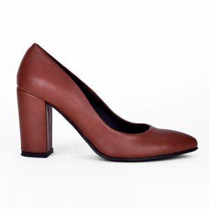Καφέ ματ γόβα, κατασκευής εργοστασίου μας. Γυναικεία παπούτσια για σένα σε εκπληκτική τιμή! Βρες αυτό που σου ταιριάζει! MyWayShoes Τσιμισκή 32 Θεσσαλονίκη!