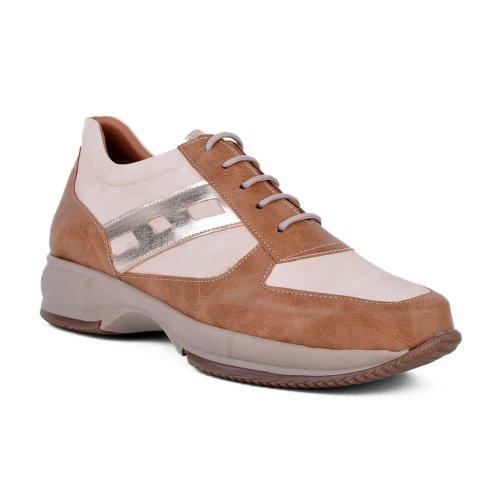 Comfort γυναικείο sneaker με κορδόνια, κατασκευής εργοστασίου μας. Βρες τώρα αυτό που σου ταιριάζει! MyWayShoes, Τσιμισκή 32 στο κέντρο Θεσσαλονίκης!