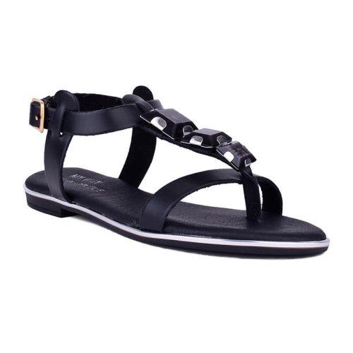 Γυναικεία Πέδιλα με διακοσμητικές πέτρες, Ελληνικής κατασκευής, σε μαύρο και καφέ χρώμα | Γυναικεία παπούτσια στη θεσσαλονίκη Mywayshoes.gr